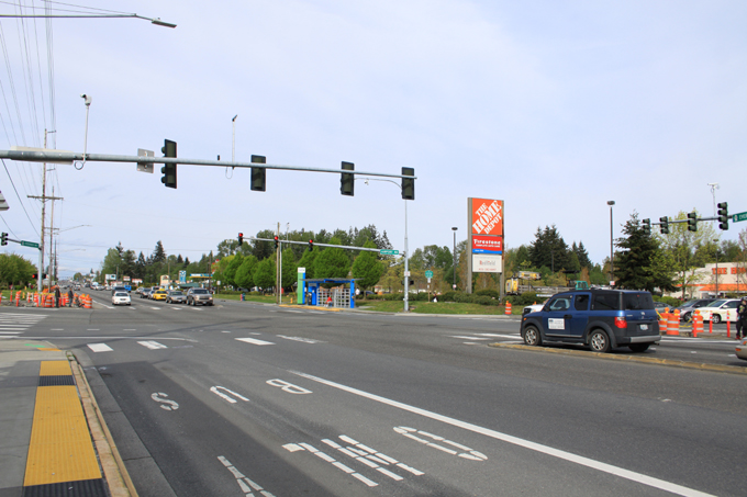 State Route 99 & Airport Road