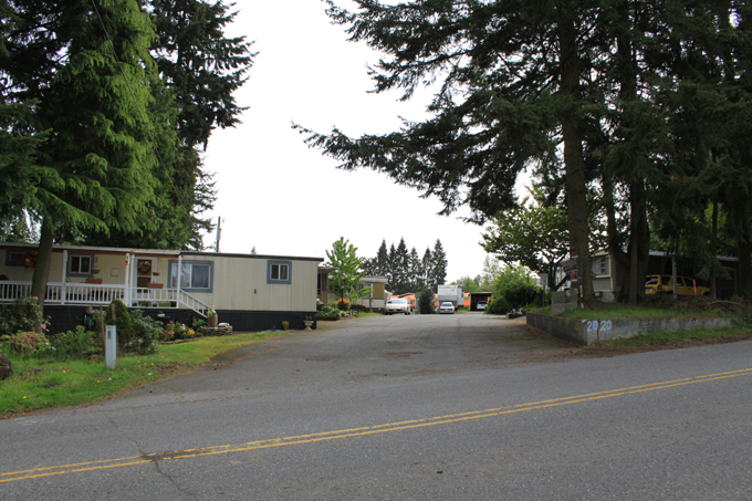 Mobile Home Park in  Fairmount